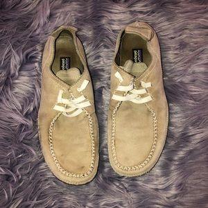 Women's Patagonia HoneyDew Dark Taupe Shoes Sz 7
